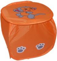 Athena Creations 10 L Orange Laundry Basket Parachute