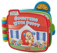 Fisher-Price Laugh & Learn Counting With Puppy Book (Multicolor)