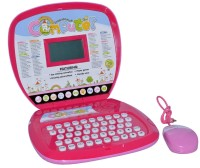 Darling Toys 78 Activity Interactive Laptop For Kids (Pink)