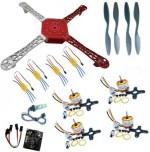 Robomart Learning & Educational Toys Robomart Quad Copter Mega DIY Kit with KK Multicopter Control Board