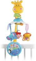 Fisher-Price Take Along Musical Mobile Acvty Toy (Multicolor)