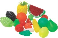 Rahul Toys Plastic Fruit Set For Kids To Play And Learn (Multicolor)