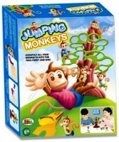 Jaibros Jumping Monkeys Board Game (Multicolor)