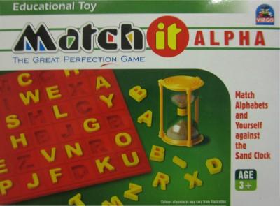 Virgo Toys Learning & Educational Toys Virgo Toys Match it Alpha
