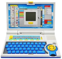 Toyoz Kids English Learner Laptop-BL (Multicolor)