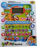 Nit N Kit Learning & Educational Toys Nit N Kit Kids Learning Machine Tablet with LCD