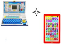 99DOTCOM Combo English Learner Laptop With My Pad Tablate (Multicolor)