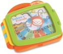 B Kids Touch'N Go Animated Book - Orange, Green