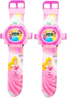 New Pinch Combo Of Digital Projector Watch 24 Images For Kids (Pink)