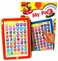 Turban Toys Mini My Pad English Learning Computer (Multicolor)
