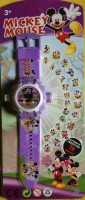 ToysBuggy Mickey Mouse 24 Images Projector Watch (Purple)