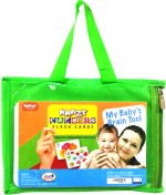 Mind Wealth Learning & Educational Toys Mind Wealth Krazy Numbers Flash Cards My Baby'S Brain Tool