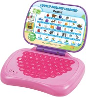 Prasid Lovely English Learner Kids Laptop (Pink, Purple)