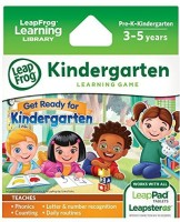 LeapFrog Enterprises Learning Game: Get Ready For Kindergarten (for LeapPad Tablets And LeapsterGS) (Multicolor)