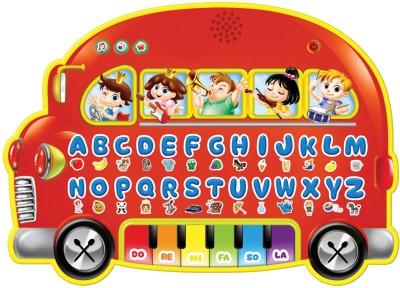 Sky Kidz Mitashi School Bus - Red