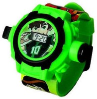 Ktkashish Toys Kashish Green Ben 10 Projecter Watch (Green)