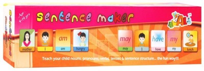 Cp Bigbasket Sentence Maker Learning Toy For Kids (Multicolor)