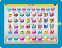 Gift-Tech PRASID MY SMART PAD ENGLISH LEARNING TABLET FOR YOUR KIDS (Multicolor)