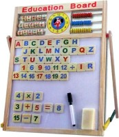 AV Shop 2 In 1 Magnetic Board With Alphabets & Numbers (Multicolor)
