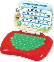 Prasid Lovely English Learner Kids Laptop (Red, Green)