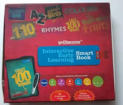 Go Discover Smart Interactive Book
