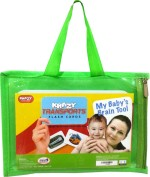Mind Wealth Learning & Educational Toys Mind Wealth Krazy Transport Flash Cards My baby's Brain Tool
