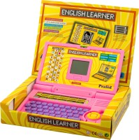 Prasid English Learner Kid's Laptop 01 (Pink, Purple)