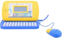 AV Shop Intellective Colour Screen Learning Computer With 80 Activities (Yellow, Blue)