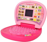 LAVIDI Smart Education Mini Laptop Toy For Kids (Pink)