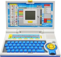 Jaibros English Learner Laptop For Kids 20 Activities (Multicolor)