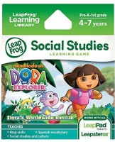 Dora The Explorer LeapFrog Dora The Explorer Learning Game (works With LeapPad Tablets And LeapsterGS) (Multicolor)