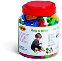 Edushape Ez-Grip Nuts And Bolts 48 Piece Development Toy (Multicolor)