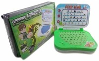 LAVIDI New Learning Laptop Toy For Kids (Green)