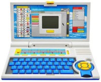 Superbia English Learner Laptop Toy - 20 Activities (Multicolor)