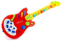 Toys Bhoomi Dynamic Electronic Guitar - The Next Rockstar (Red)