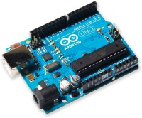 Robokits Arduino Uno R3 - Original Made In Italy With Box (Multicolor)