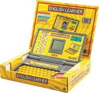 Prasid English Learner Laptop For Kids 20 Activities (Yellow)