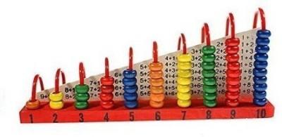 Shopaholic Learning & Educational Toys Shopaholic Wooden Calculation Shelf Abacus