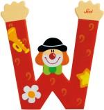 Sevi Learning & Educational Toys Sevi Letter W Clown