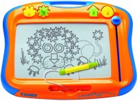 FunSkool Tomy Mega Sketcher - Magnetic Drawing Board (Yellow)