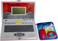 Jilani Learning Laptop For Kids With 80 Activities With Mouse CD Drive & Games (Red)