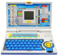 Turban Toys English Learner Laptop For Kids With 20 Activities (Blue)
