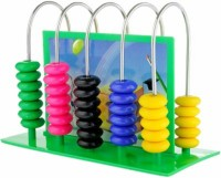 Gadget Bucket Educational Abacus ..Reinvent… The Ancient Art Of Calculation (Multicolor)