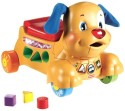 Fisher-Price Laugh & Learn Stride-to-Ride Puppy - English Language - Multicolor