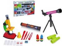 Venus-Planet Of Toys Science Laboratory Set With Telescope,Microscope,Kaliedoscope & Binoculars (Multicolor)