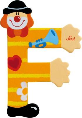 Sevi Learning & Educational Toys Sevi Letter F Clown