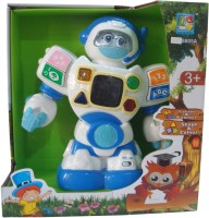 Starmark Robot Enlightment Toy (White, Blue)