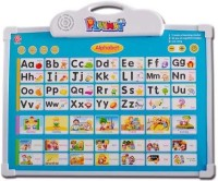 Mayatra's Alphabet Learning Electronic Board With One Doodle Pen For Kid's (Multicolor)