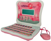 9Perfect Kids Intellective Talking Laptop With 36 Activities & Games Mouse (Pink)