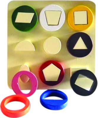 Kinder Creative Kinder Creative Geometrical Shapes Cavity Board